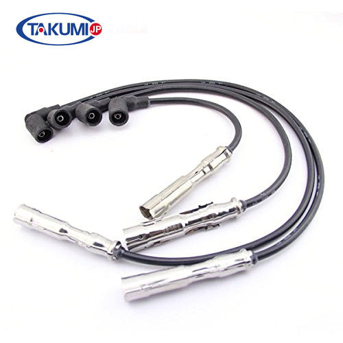 VW Golf Spark Plug Cables EPDM / Silica Gel 021905409AD Withstand High Pressure